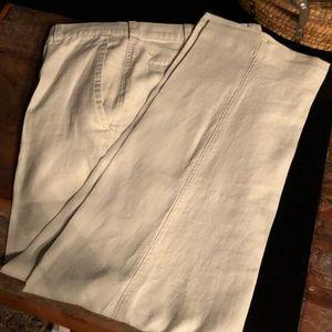 Men's linen pants. 36W X 29, Jos. A. Bank